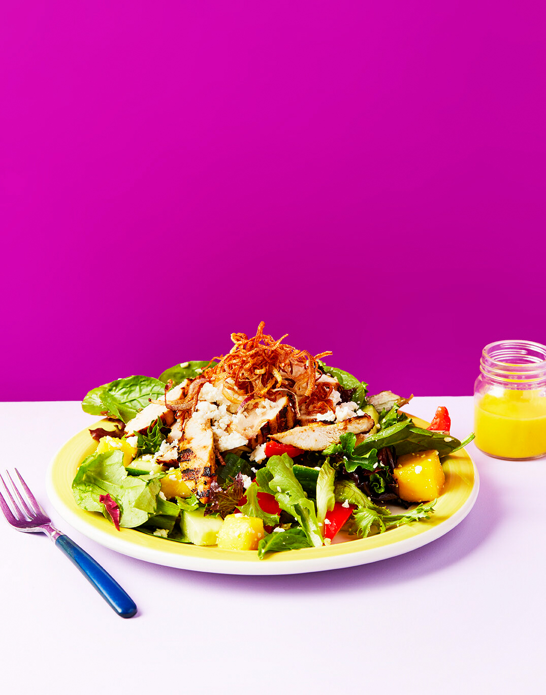 dominic-perri-new-work-storey-publishing-winner-winnen-chicken-dinner-cookbook-grilled-chicken-mango-salad